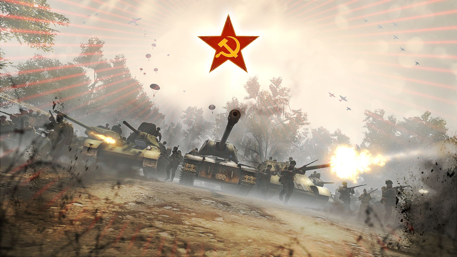 Soviets Enter the War with Huge Heroes & Generals Update ...