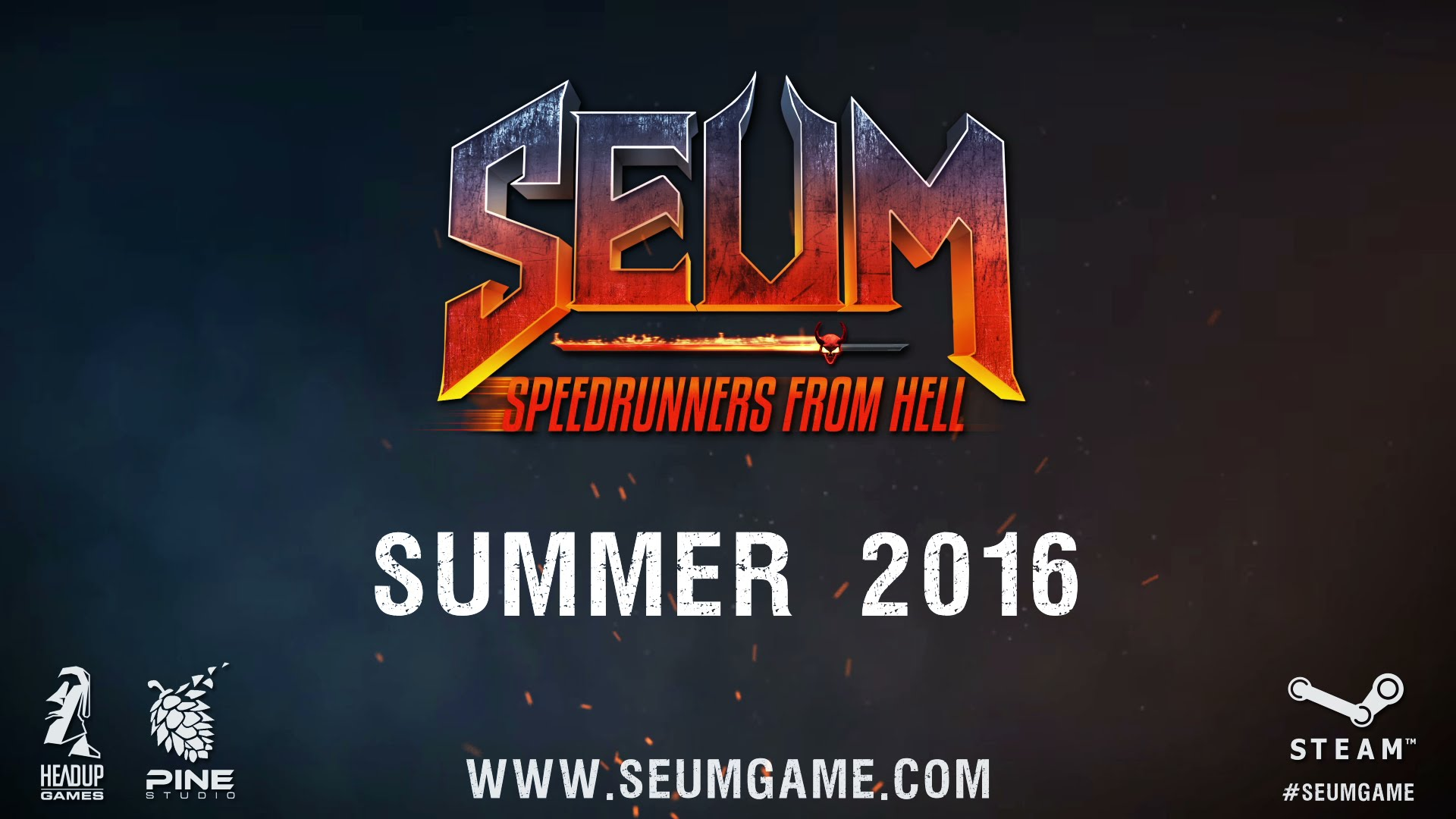 Pine studio and headup games present seum speedrunners for 51090 text