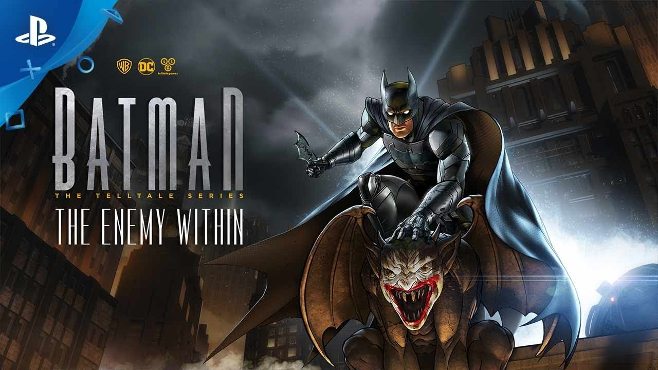 Batman: The Enemy Within - The Telltale Series – Second ...