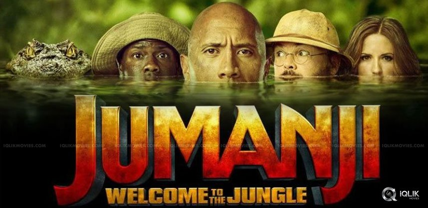 Jumanji Welcome To The Jungle / Jumanji Vítejte v... (2017)