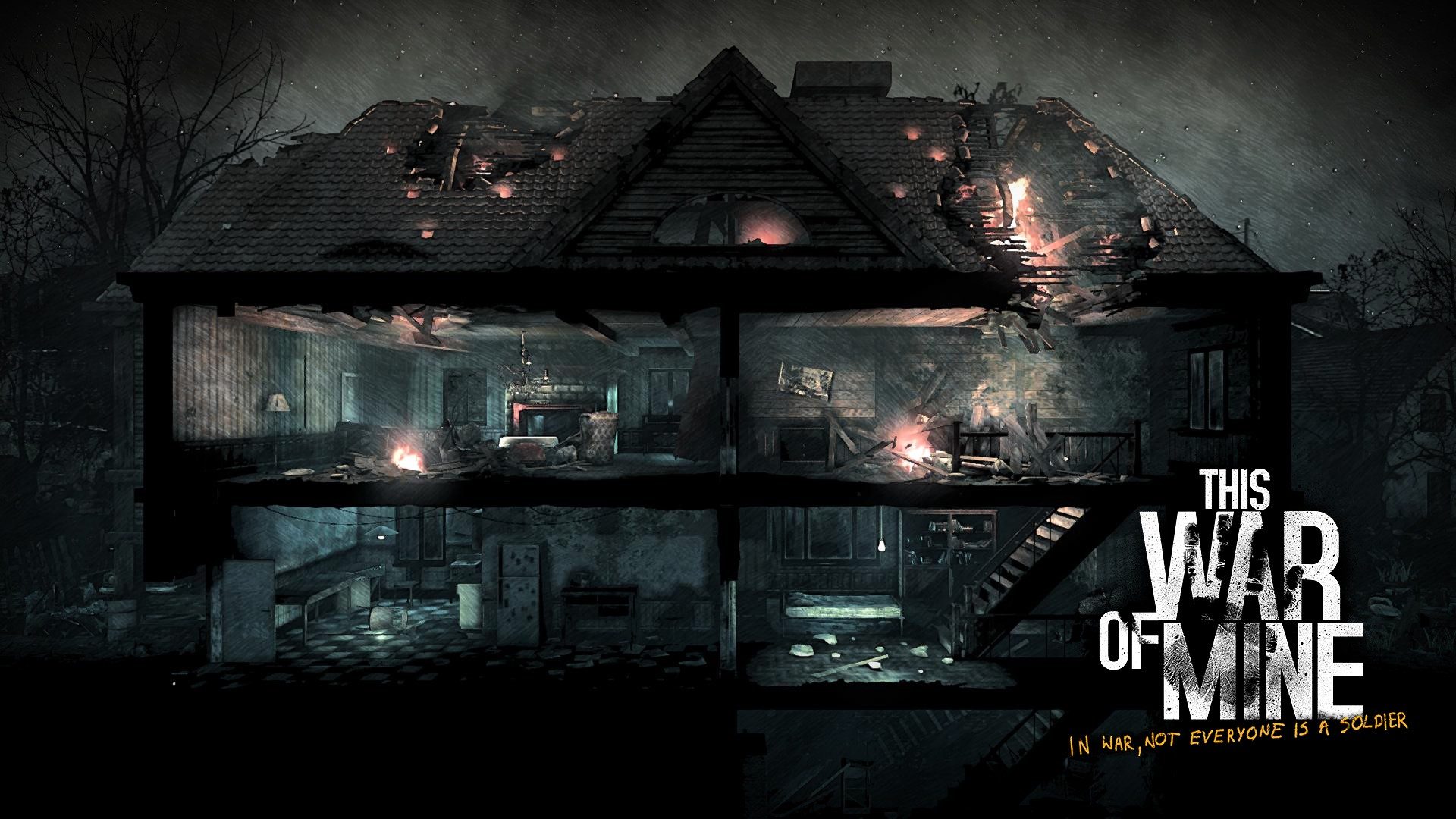 This War Of Mine Wallpaper: Emotion And Play In This War Of Mine
