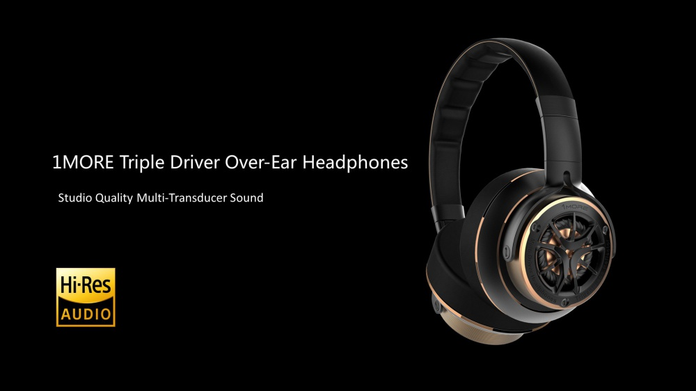 1 More Triple Driver Over-Ear Headphones
