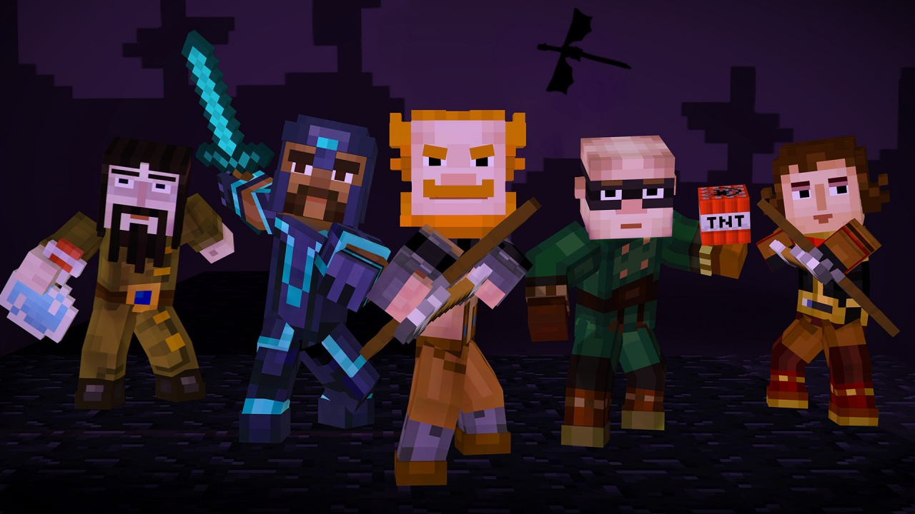 Minecraft Story Mode Episode 4 A Block And A Hard Place