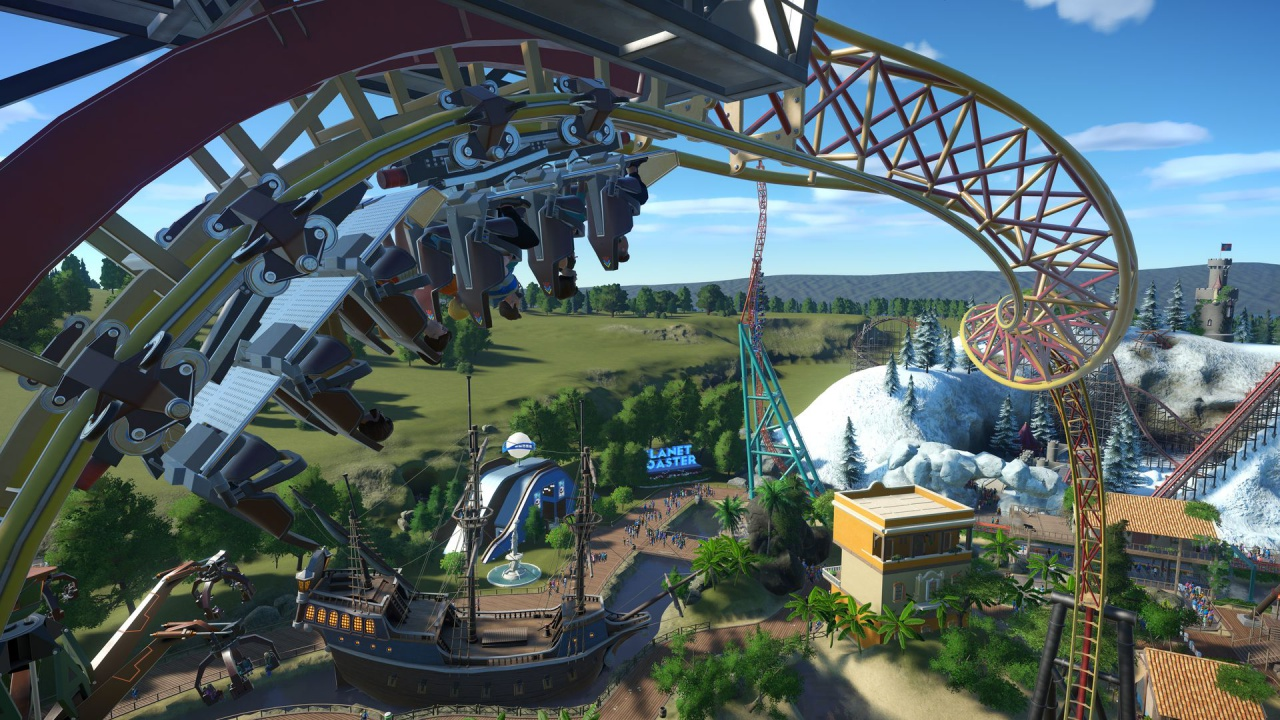 Planet Coaster Video Game Reviews And Previews Pc Ps4