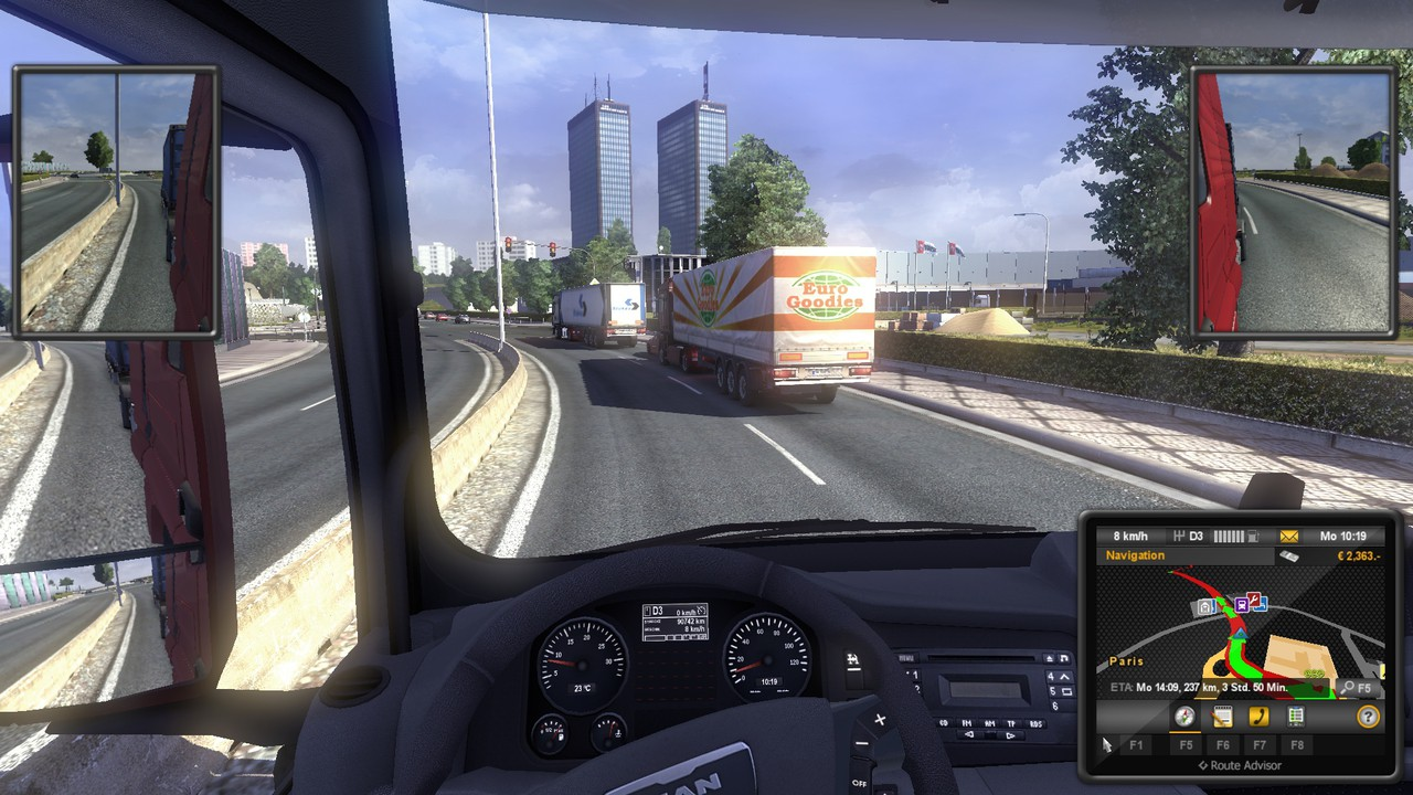 euro truck simulator 2 video game reviews and previews. Black Bedroom Furniture Sets. Home Design Ideas